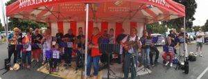 Southern Peninsula Ukulele Group at Mornington street festival