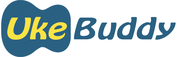 Logo for Uke Buddy Website
