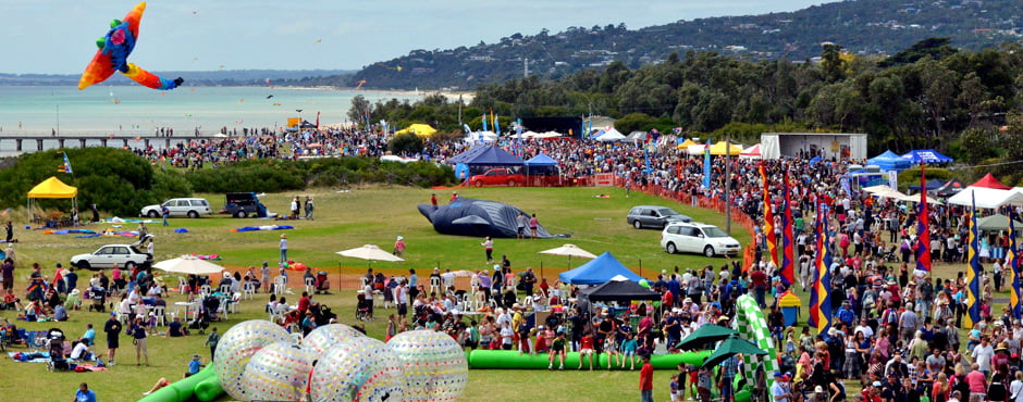 Upcoming Events : Ti Tree Lodge and Rosebud Kite Festival